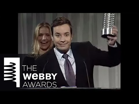 Jimmy Fallon Five Word Speech at the 13th Annual Webby Awards