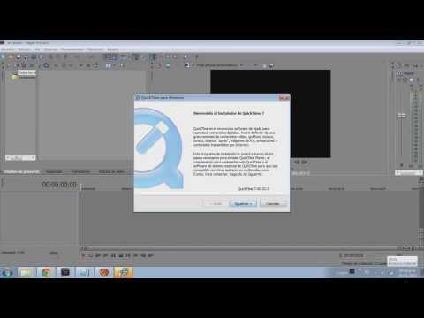 Solución: Error al importar videos en formato mp4 al sony vegas 9.10.11.12.13