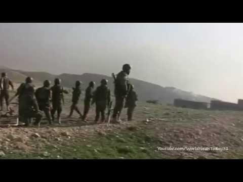 Iraq's Barzani praises Peshmerga forces on Mount Sinjar
