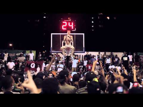 Machine Gun Kelly Freestyles Above The Rim at  The Rucker EBC (Official Version)