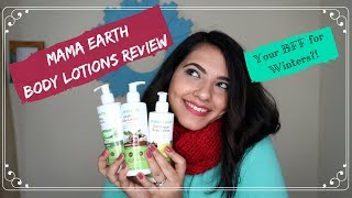 #HappyReviews: The Body Lotion You NEED For Winters?! | Mama Earth Body Lotions Review