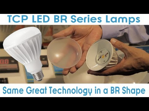 GoodMart TCP LED BR Series Lamps: The Same Excellent TCP LED Technology in a BR Shape