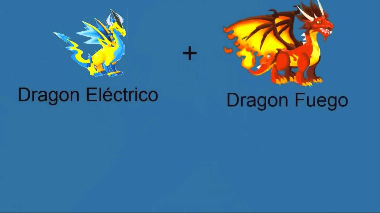 Dragon City ***( Combinaciones Dragones Electrico )*Bien explicado en