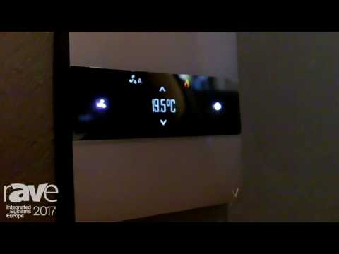 ISE 2017: Basalte Features Deseo Intelligent Thermostat Integration