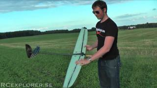 Discus launch glider / F3K demonstration