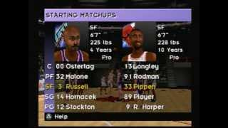 NBA Live 98 (Playstation) Gameplay