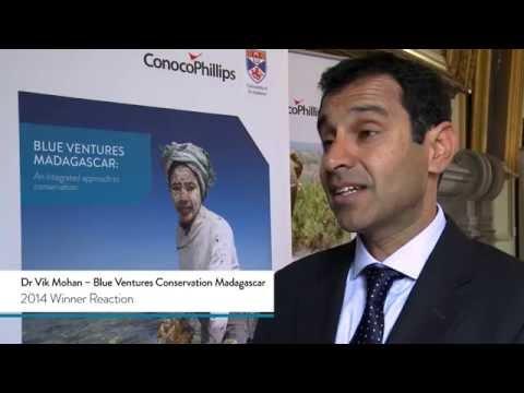 Blue Ventures Conservation Madagascar  - 2014 Winner Reaction