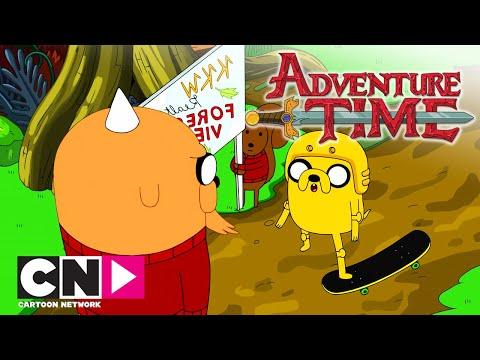 Время приключений | Скейт парк мешап | Cartoon Network