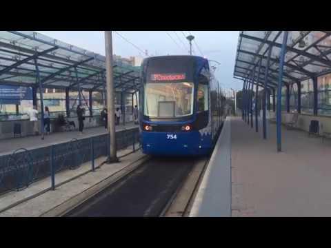 Трамвай нового поколения, поездка на трамвае