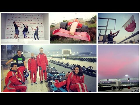 KARTING WITH FRIENDS | Bahrain International Karting Circuit (Daily Vlog 198)