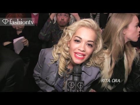Best Dressed at Vivienne Westwood Red Label Front Row | Fall 2012 London Fashion Week | FashionTV
