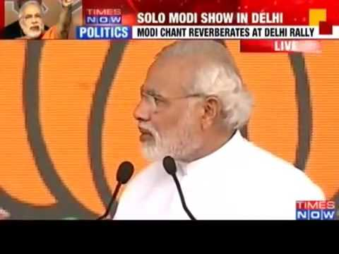 Narendra MODI attacks Nawaz Sharif for INSULTING Manmohan Singh Telling his
