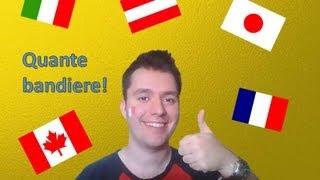 Apprendre l'italien - Leçon 3: Les pays et les adjectifs de nationalité / Le verbe essere (être)