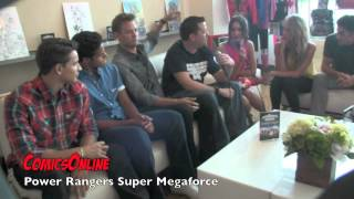 Sdcc 2014 Interview With The Cast Of Power Rangers Super Megaforce