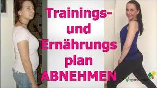 VEGAN ABNEHMEN - Trainings-und Ernährungsplan