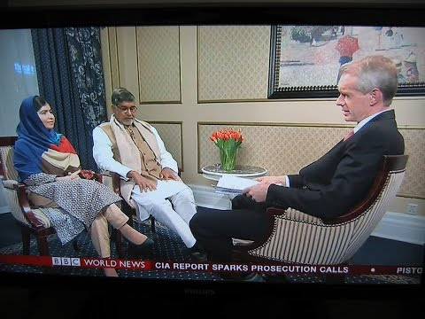 HARDtalk:Malala Yousafzai and Kailash Satyarthi   joint winners of the Nobel Peace Prize 2014