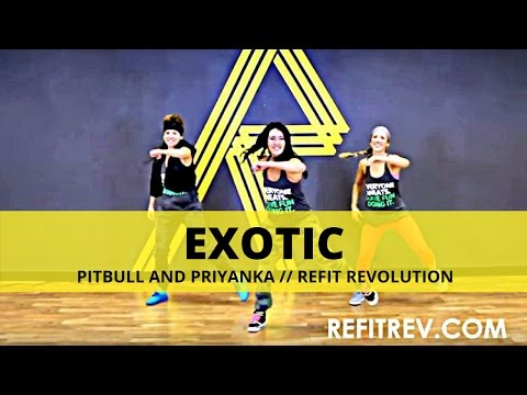 Refit® Dance Fitness exotic By Pitbull And Priyanka (warm Up) video