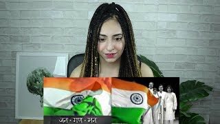 Indian National Anthem - Jana Gana Mana REACTION by PAKISTANI/ITALIAN