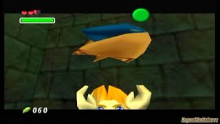 The Legend Of Zelda Ocarina Of Time-3 Heart Challenge Part 8