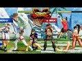 Street Fighter V AE Laura/Falke/Chun Li vs R. Mika/Sakura/Ibuki PC Mod