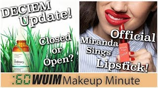 Deciem Update! Get Your Official Miranda Sings Lipstick! | Makeup Minute