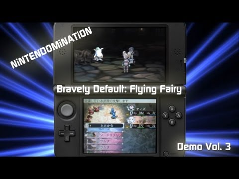 3DS DEMO - Bravely Default: Flying Fairy - Vol.3