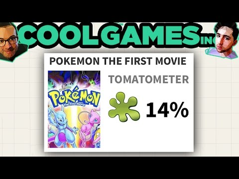 """Griffin and Nick Read Bad """"Pokemon: The First Movie"""" Reviews — CoolGames Inc"""