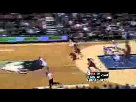 Philadelphia 76ers vs. Minnesota Timberwolves 2/12/11