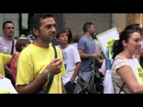 Manifestació Escola camí del Mig