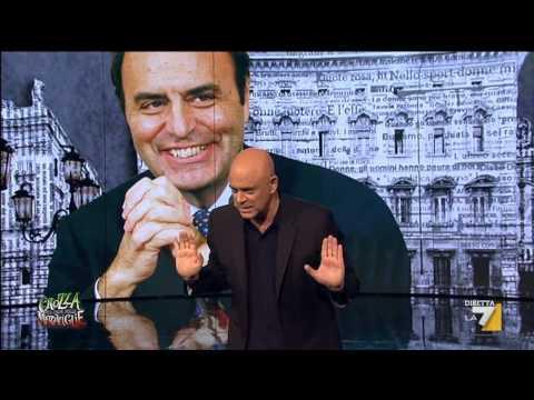 Crozza nel Paese delle Meraviglie – Elezioni Europee 2014 – Voto Bruno Vespa! Protagonista della scena la poltrona degli orrori