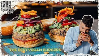 THE BEST VEGAN BEAN BURGERS.. high protein!