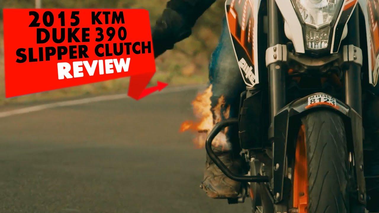 2015 KTM Duke 390 (Slipper Clutch) | Review | PowerDrift ...