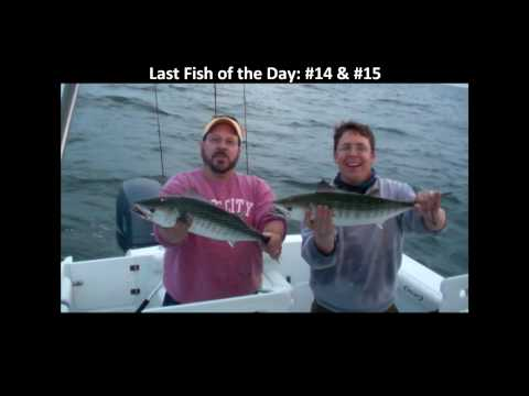 Fishing for Atlantic Bonito from Topsail Island, NC