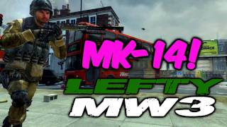 MW3: How I Use the MK14 (Modern Warfare 3, MK-14 Gameplay)