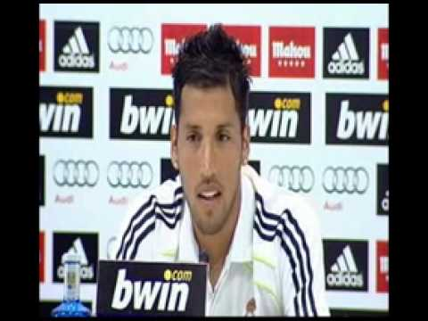 Ezequiel Garay READY to start the 2010 - 2011 season with Real Madrid Video