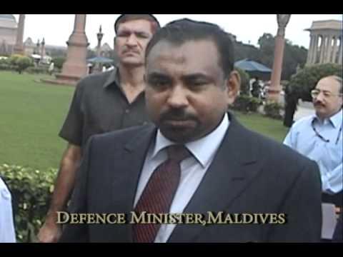 Maldives Defence Minister on India Visit