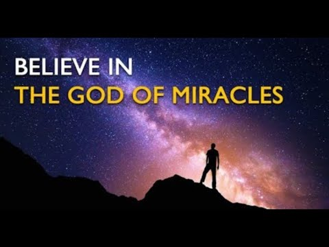 Believe in The God of Miracles - Crossmap Inspiration