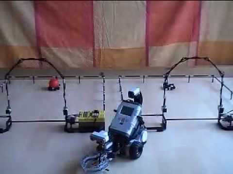 Lego Mindstorm NXT 2 Robot controlled by Tazti speech recognition