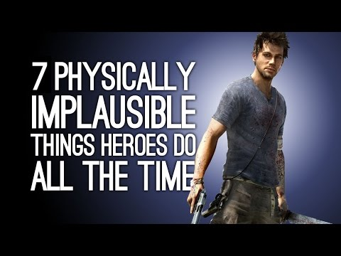 7 Physically Implausible Things You Do All the Time as a Game Hero