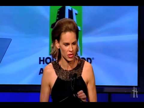 Hilary Swank at the Hollywood Film Awards