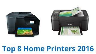 8 Best Home Printers 2016