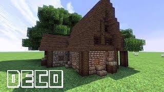 Clip zostojsiab com tuto minecraft comment faire une belle maison en bois - Minecraft comment creer une belle maison ...
