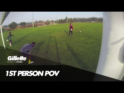 POV Training with Team Ghana | Gillette World Sport