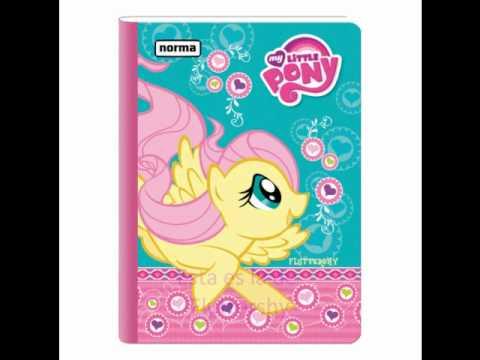 Nuevas libretas y mochilas de My Little Pony FIM - YouTube: www.youtube.com/watch?v=svoJ0H5jkss