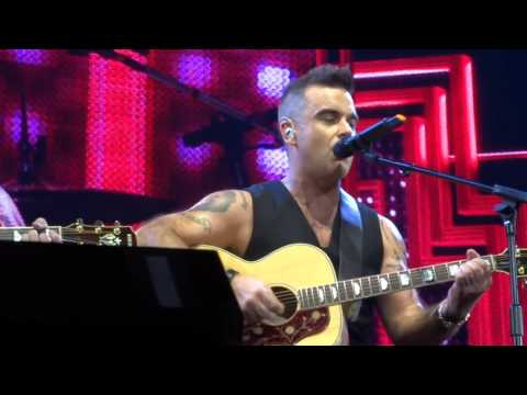 Robbie Williams - Motherfucker - 24/10/15 Melbourne HD FRONT ROW