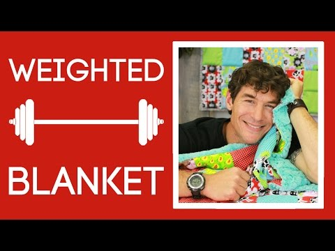 The Weighted Blanket: An Easy Quilting Project by Rob Appell of Man Sewing