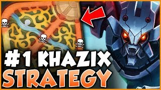 #1 KHAZIX WORLD EXPLAINS HOW TO CARRY 3 LOSING LANES IN HIGH ELO! - League of Legends
