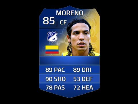 FIFA 14 TOTS MORENO 85 Player Review & In Game Stats Ultimate Team