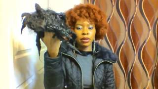 How i creat curls and waves with the janet collection & freetress equal afro wigs