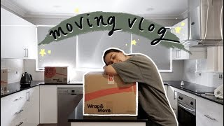 MOVING VLOG! unpacking, organising & chatting